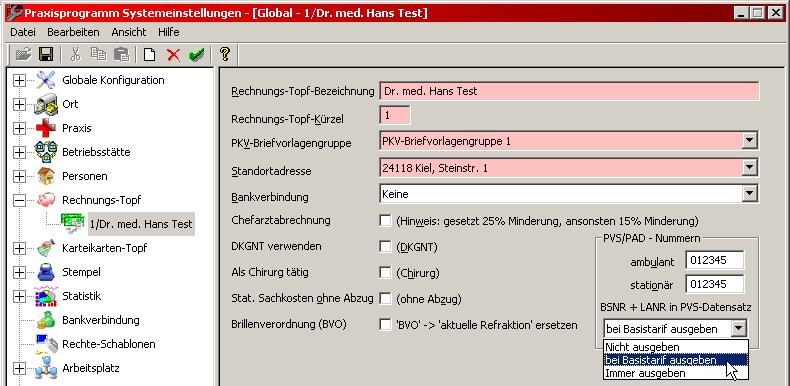 Pvs Abrechnung : medisoftware basistarif bei pvs abrechnung ~ Themetempest.com Abrechnung