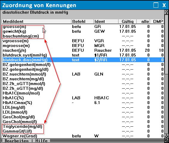Medisoftware – Fettleber-Index (nach Giorgio Bedogni)